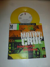 "MOTLEY CRUE - Hooligan's Holiday - 1994 UK 2-Track 7"" YELLOW Vinyl Single"