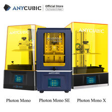 Anycubic Photon Mono X/Mono SE/Mono UV LCD Photocure Resin 3D Printer Fast Print