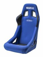 FIA Sparco Sprint Racing Rally Seat Tubular Steel Frame BLUE