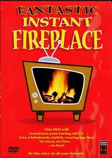 FANTASTIC INSTANT FIREPLACE: VIRTUAL CHRISTMAS HOLIDAY w/REAL NATURAL SOUND! OOP