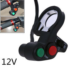 "Plastic 7/8"" Motorcycle Handlebar Light Headlight Switch Horn Turn Signal ON/OFF"