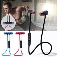 Great Magnet Wireless Bluetooth Sports Earphone Headset Headphone For IPhone