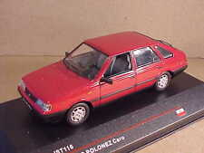 IST  #IST 116 1/43 Diecast '91 FSO Polonez Caro 4-Door Sedan w/LHD, Red, Poland