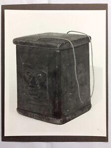 Vintage Photograph Of Northwest Coast Indian Box TSIMSHIAN Royal Ontario Museum