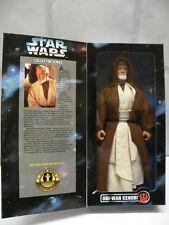 "Star Wars 12"" Action Figure * OBI-WAN KENOBI * with Lightsaber BRAND NEW Rare"