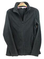 PETER STORM Black Fleece Zip Through & Pockets Size 10 Good Condition