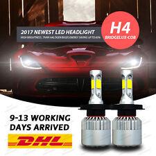BRIDGELUX 72W 9000LM H4 LED Fari Lampada Lampadine Headlight Luce Bulb 6500K