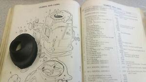 NOS GENUINE LAND ROVER GEARBOX BELL HOUSING GROMMET SERIES 1952-71 PART 2362