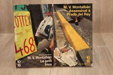 Manuel Vasquez Montalban - Lot de 2 poches - Livre - Occasion
