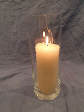 Table Centre Pillar Candle Glass
