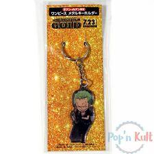 One Piece Film Gold Roadshow Roronoa Zoro Metal Keychain Keyholder [JAP] NEW