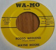 Wayne Moore ~ Rodeo Weekend / Coho ~ (M-) Rare Michigan Rockabilly