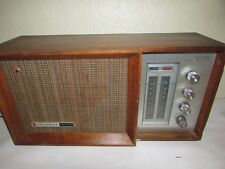 Panasonic 2 Way System AM/FM 10-Transistor Radio in Wood  RE-7487