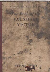 VAUXHALL VICTOR F SERIES 1 & 2 (1957-61) OWNERS REPAIR HANDBOOK