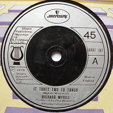 """RICHARD MYHILL - It Takes Two To Tango - Ex Con 7"""" Single Mercury 6007 167"""