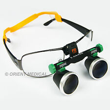 2.5X 420mm Loupes Binocular Galileo Magnifier Lens Glasses for Dental/ Surgical