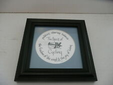 ** THE SPIRIT OF CYCLING ** FRAMED PRINT ** VERY COOL **