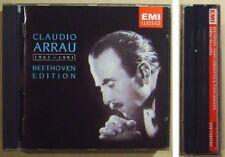 ARRAU BEETHOVEN EDITION Piano Concerto 1-5 Appassionata Waldstein Moonlight 5CD