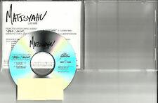 MATISYAHU Sunshine w/ RARE RADIO MIX 2012 PROMO DJ CD single RARE TST PRESS