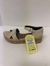 Toms Harper Natural Hemp Wedge Sandals Women's Size 8.5M 10011844