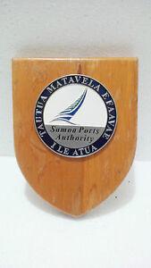 Ship Shield Plaque & Signs Vintage Maritime Antiques Ship's S037 (17)