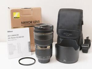 Nikon AF-S 24-70mm F2.8 G ED Lens for D780 D810 D850 ~Excellent Condition