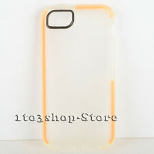 Tech21 D30 Impact Mesh Cover Case For iPhone 5 iPhone 5s iPhone SE (Clear/Oange)