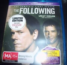 The Following 4 Disc Complete First Season Uncut Version