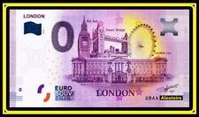 Billet Touristique Souvenir 0 euro - Grande Bretagne UK Kingdom  - London 2020