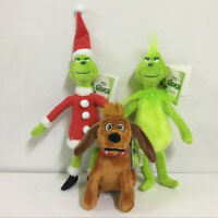"""12/"""" New Dr Seuss How the Grinch Stole Plush Toy Christmas Gift"""