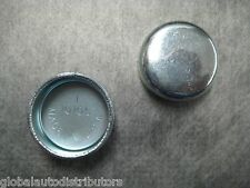 """1"""" 1.00 in (25.6mm) Steel Freeze Plug - Pack of 2 - Made in USA - Ships Fast!"""