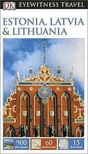 Dk Eyewitness Travel Guide: Estonia, Latvia & Lithuania new, freepost Australia