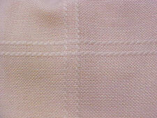 "Anne Cloth Afghan Fabric Pink 45"" x 60"" Poly Acrylic 5"" Squares Zweigart Chart"