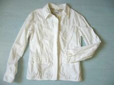 veste coton blanc Closed taille L TBE