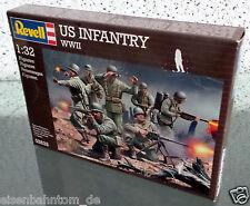 Revell Modellbausatz 02632 US INFANTRY WWII Figuren 1:32 - NEU!!