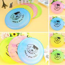 Neu Haustier Hunde Spielzeug Fliegende Untertasse Teller Spiel Frisbee Spielzeug