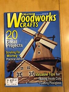 Creative Woodworks & Crafts Magazine, September 2006, complete with plans