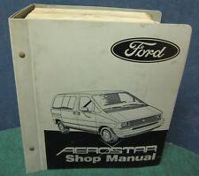 i Shop Manual A & B for the 1986 Ford Aerostar