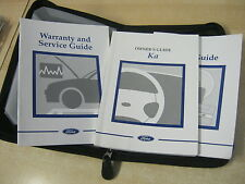FORD KA OWNERS MANUAL - OWNERS GUIDE - HANDBOOK INC AUDIO