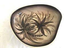 The little Sydney pottery super rare lilo signed Native plants bowl