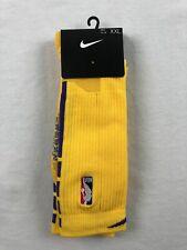 NEW Nike - Yellow/Purple Tall Socks (2XL)