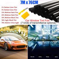 76x700cm Voiture Film Teinté Fenêtre Noir Fenêtre Voiture 5% Anti-éblouissement