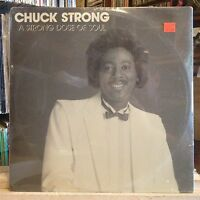 [SOUL/FUNK/JAZZ]~SEALED LP~CHUCK STRONG~A Strong Dose Of Soul~[1989~TEAM~Issue]~