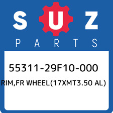 55311-29F10-000 Suzuki Rim,fr wheel(17xmt3.50 al) 5531129F10000, New Genuine OEM