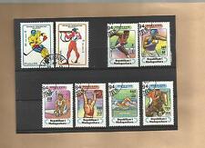 """Lot Briefmarken """"Madagaskar - Thema: Sport"""""""