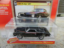 2016 Johnny Lightning *CLASSIC GOLD 2A* Black 1973 Pontiac GTO *NIP*
