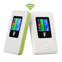 Portable 4G LTE LCD WIFI Wireless Router Mobile Modem 100Mbps Hotspot Unlocked