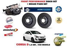 für Opel Corsa D 1.6 SRi VXR 2007 > front Performance Bremsscheiben + Beläge