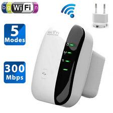 300Mbps EU Signal Extender Booster Wireless-N AP Range802.11Wifi Repeater Plug P
