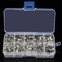 5x20mm Quick Blow Glass Tube Fuse Assorted Kit,Fast-blow Glass Fuses 100pcs